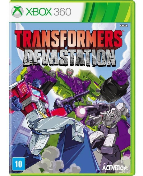 Transformers Devastation Xbox 360 Lacrado Mídia Física