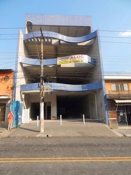 Prédio Comercial Para Locação Com 4 Pavimentos De 370m²,4vagas,3wcs No Bairro Vila Guilhermina, - 2635