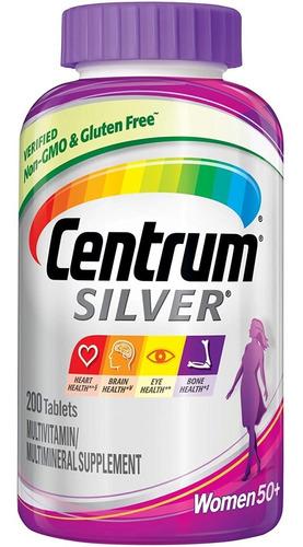 Multivitaminico Centrum Silver Mujer 275 Tabletas