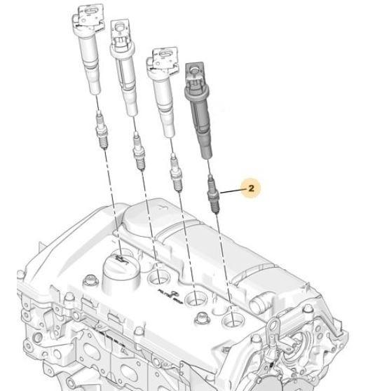Bujia De Encendido Peugeot 308 1.6 Thp 163cv