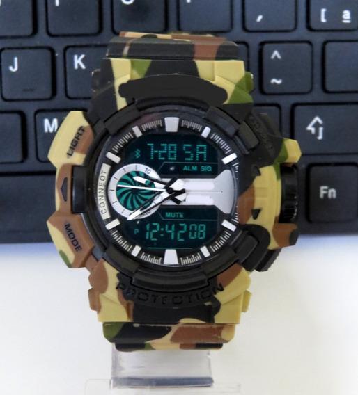 Relógios Grande Digital Analógico Top-shock Barato P Entrega