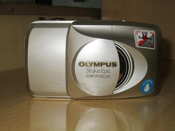 Câmera Olympus Stylus Epic Zoom 170 Deluxe 38-170mm 35mm