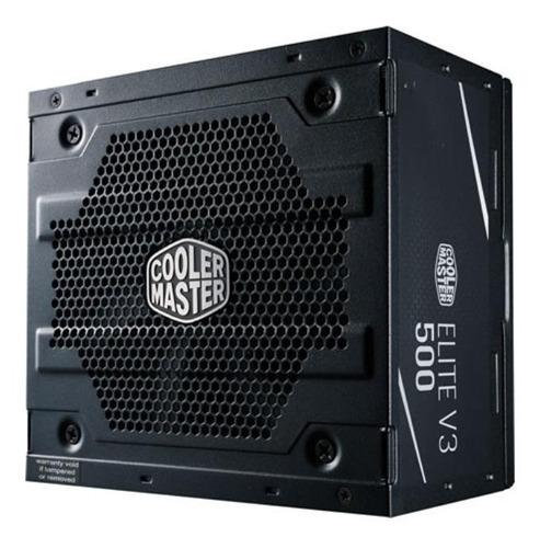 Imagen 1 de 3 de Fuente de poder Cooler Master Technology Elite Series MPW-5001-ACAAN1 500W black 100V/240V