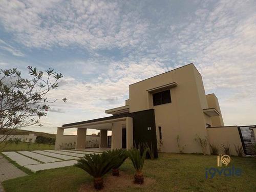 Casa Com 4 Suítes À Venda, 400 M² - Condomínio Reserva Do Paratehy - São José Dos Campos/sp - Ca1389