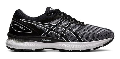Zapatillas Asics Gel Nimbus 22 Running Mujer Negra - $14.990,00