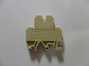 Borne Sak Duplo 4mm Conexel Din (kit 18 Peças).