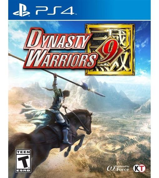 Dynasty Warriors 9 Ps4 Mídia Física Lacrado
