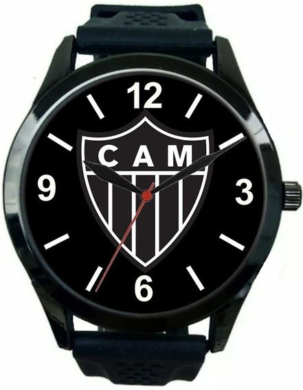 Relógio Masculino Pulso Esportivo Atlético Mineiro Barato