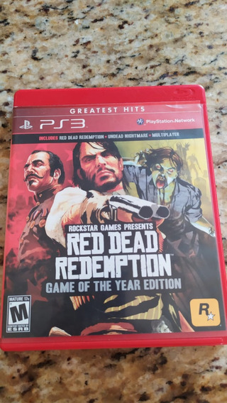 Jogo Red Dead Redemption Game Of The Year Edition Ps3