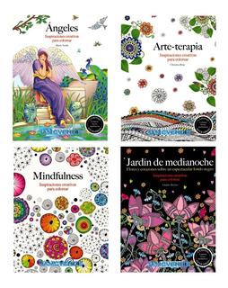 Libros Mandalas Iluminar Colorear Medita Rélajate Armoniza