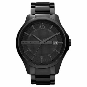 Relógio Pa24321 Armani Exchange Masculino Ax2104 Black + Cx