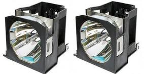Lâmpada Para Projetor Panasonic Et-lad7700w - Kit Com 2 Un.