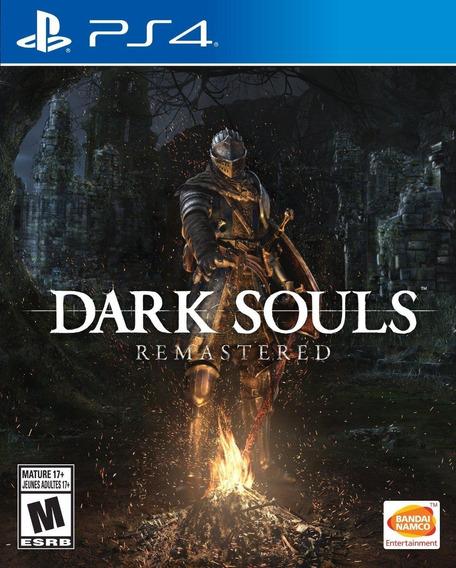 Dark Souls Remastered Ps4 Mídia Física Lacrado Leg Pt Br