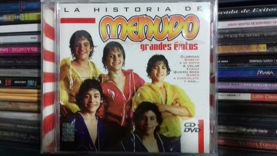 Menudo La Historia Grandes Éxitos (únicamente Es El Dvd)