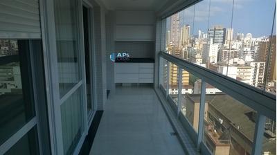 Apartamento No Gonzaga - Prédio Novo. - A1071-8451