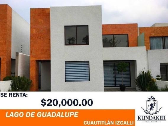 Casa En Renta Lago De Guadalupe