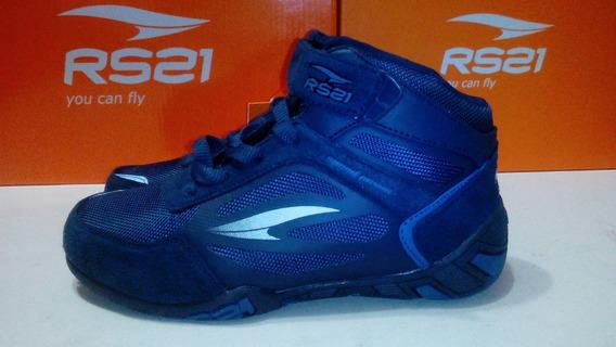 Zapatos Deportivos Botin Rs21 Niño Talla 32 Ref 312 19,7cm