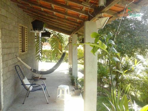 Chácara Com 2 Dormitórios À Venda, 800 M² Por R$ 250.000,00 - Colinas Araçoiaba - Araçoiaba Da Serra/sp - Ch0014