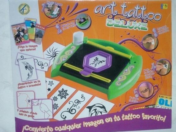 Remate Art Tatoo Deluxe. Kreisel. Juguete Niños