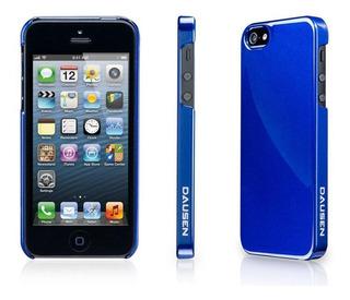 Funda Dausen Para iPhone 4/4s Azul Metálico