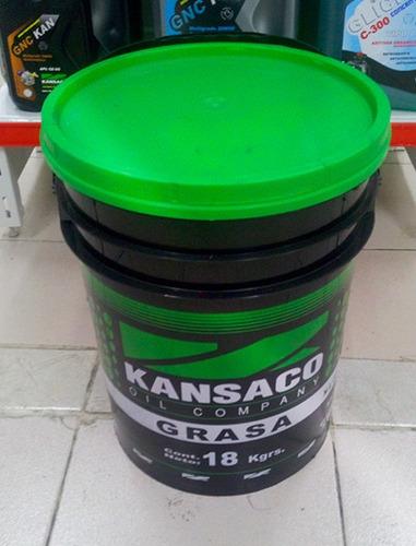 Grasa Litio Ep2 Rulemanes Grado 2 Kansaco - Tacho Balde 18kg