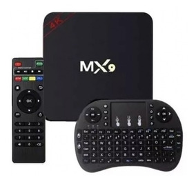 Transforme Sua Tv Em Smart- Tv Box Smart + Mini Teclado Led