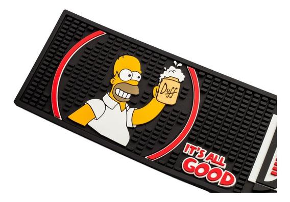 Bar Mat Duff Cerveja Dos Simpsons Homer Dia Dos Pais