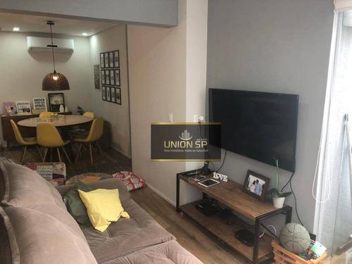 Imagem 1 de 20 de Apartamento Com 2 Dormitórios À Venda, 84 M² Por R$ 1.100.000,00 - Aclimação - São Paulo/sp - Ap48316