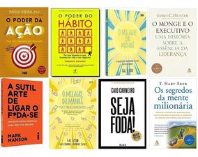 O Poder Da Ação + O Poder Do Hábito + 6 Livros