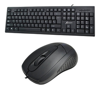 Combo Teclado + Mouse Usb Pc Notebook Oficina Empresa Kit
