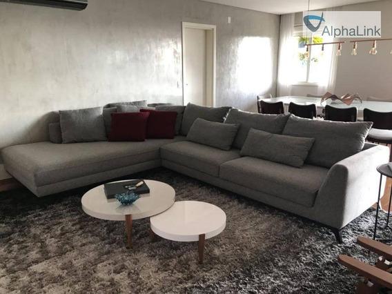 Apartamento - Boulevard Tamboré - 172m² - 3 Quartos - Alphaville - Santana De Parnaíba - Ap1552