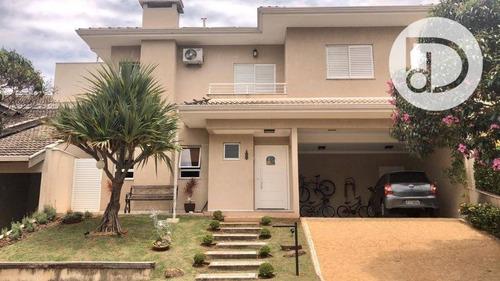 Casa Com 3 Dormitórios À Venda, 266 M² Por R$ 950.000,00 - Condomínio Vivenda Das Cerejeiras - Valinhos/sp - Ca3649