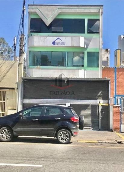 Predio Comercial Para Locação No Tatuapé Metrô Carrão, 3 Vagas, 420 M2 - 1699