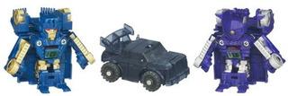 Transformers Bot Shots Battle Game Series 1 Paquete De 3 Ir