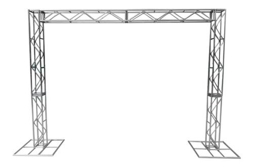 Imagem 1 de 5 de Treliças Kit Trave Box Truss Q20 Aço 2,5/3m - Lourenço!