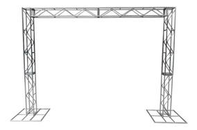 Treliças Kit Trave Box Truss Q20 Aço 2,5/3m - Lourenço!