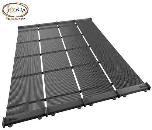 Coletor Solar Aquecedor Solar Para Piscina 4 Mts Soria