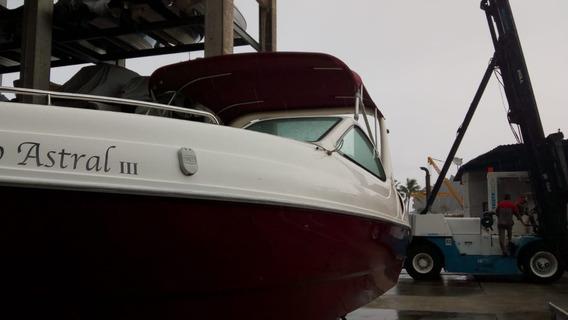 Lancha Coral 27 Aberta Com Cabine Mercrusier Pronta Entrega