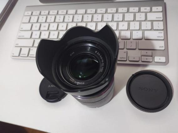 Lente Sony Alpha Sel1855 E-mount 18-55mm F3.5-5.6 Oss