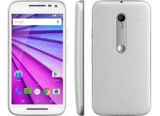 Motorola Xt1543 Moto G 3ª Geração Ds Colors Branco 16gb