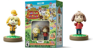 Animal Crossing Amiibo Festival Wii U - Juego + 2 Amiibos