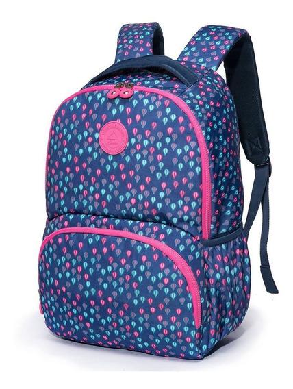 Mochila Escolar Feminina Fashion Spector Balloon Juvenil