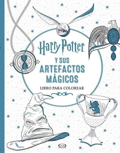 Imagen 1 de 3 de Harry Potter Y Artefactos Magicos Para Colorear - Libro V&r