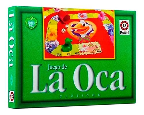 Juego De La Oca - Linea Green Box Juego De Mesa Educando