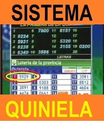 Método Para Ganar La Quiniela 2020 ! Funciona Al 100 %