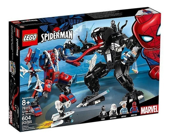 Lego Marvel Super Heroes Robot-araña Vs. Venom 76115