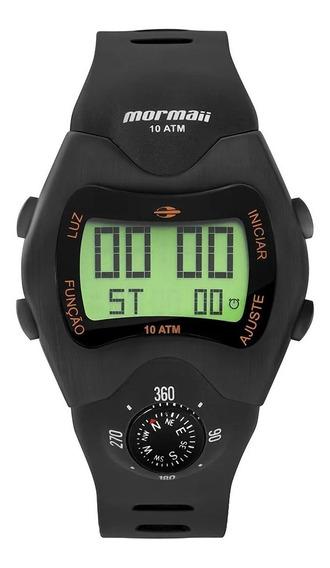 Relógio Mormaii Mo1324ac/2p Digital Preto Mo1324ac Bússola