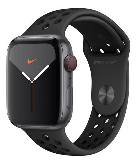 Apple Watch Series 5 Cinza Espacial 44mm 4g, Bluetooth 32 Gb