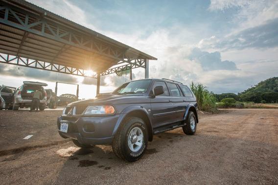 Mitsubishi Montero Sport 4x4 Diesel 2009 Azul