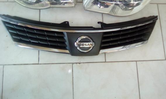 Grade Dianteira Nissan Tiida 07/09 Friso Cromado Original